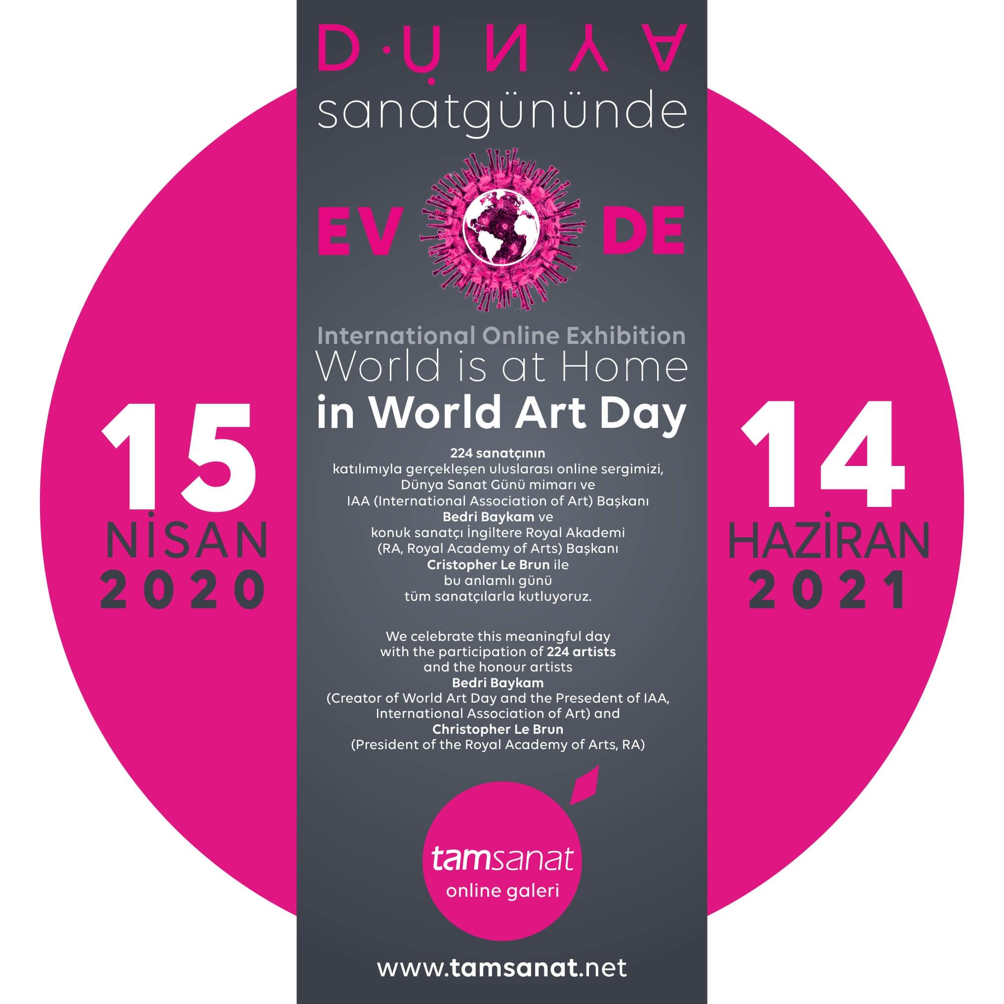 2020 Dünya Sanat Günü Online Sergi